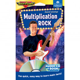 Multiplication Rock Cd & Book