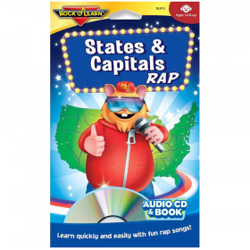 States & Capitals Rap Cd & Book