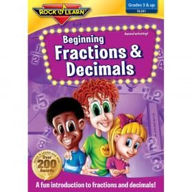 Beginning Fractions & Decimals DVD