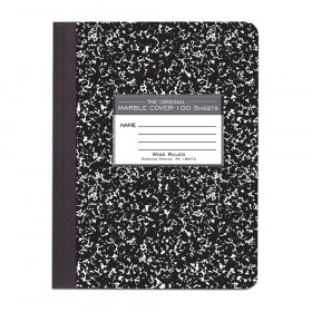Marble Composition Book, Black