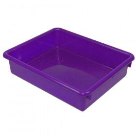 3In Purple Stowaway Letter Tray