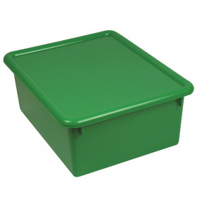 "Stowaway 5"" Letter Box with Lid, Green"