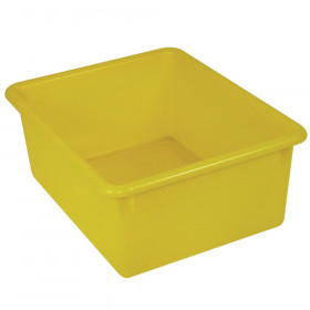 "Stowaway 5"" Letter Box no Lid, Yellow"