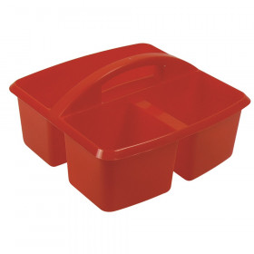 Small Utility Caddy, Red