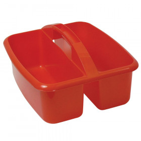Large Utility Caddy, Red