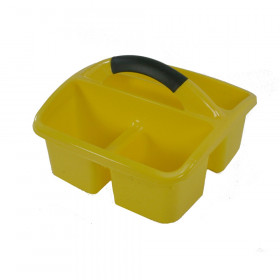 Deluxe Small Utility Caddy, Yellow