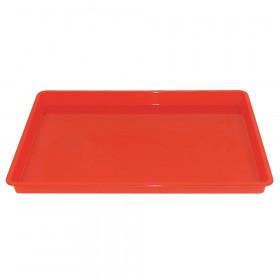 Creativitray Finger Paint Tray, Red