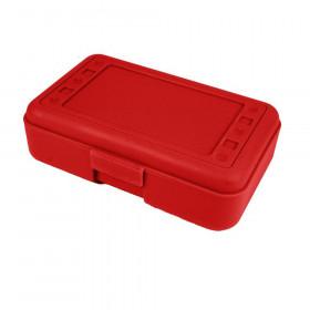 Pencil Box, Red