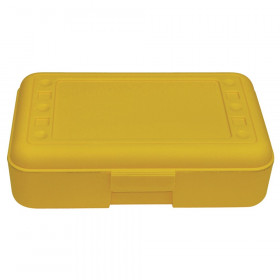 Pencil Box, Yellow