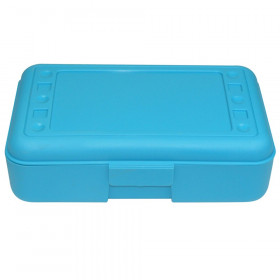 Pencil Box, Turquoise
