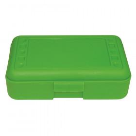 Pencil Box, Lime Opaque