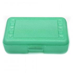 Pencil Box, Lime Sparkle