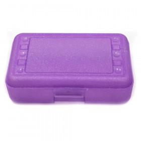 Pencil Box, Purple Sparkle