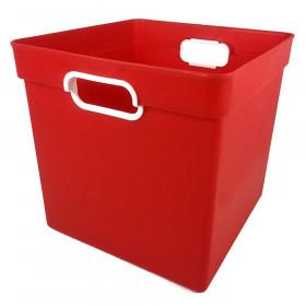 Cube Bin, Red
