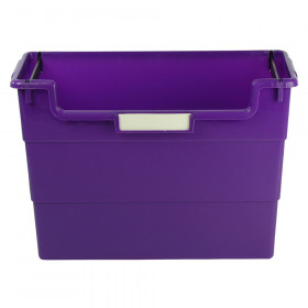 Desk Top Organizer, Purple