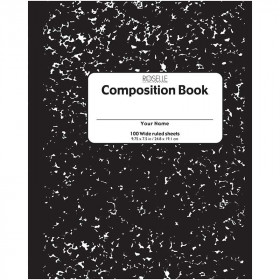 Composition Notebook 100 Ct 9.75 X 7.5
