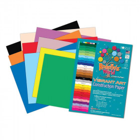 Asstd Construction Paper 18X24 50 Sheets
