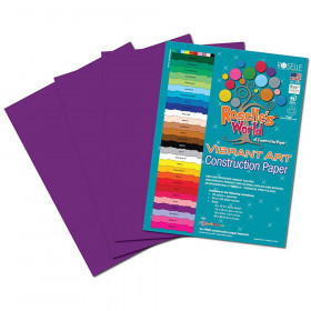 Violet Construction Paper 12X18 50 Sheets
