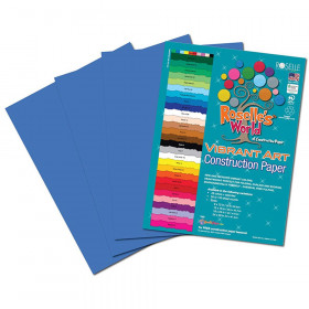 Blue Construction Paper 12X18 50 Sheets