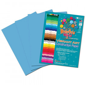 Turquoise Construction Paper 12X18 50 Sheets