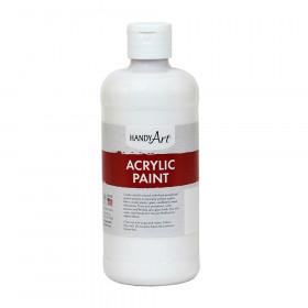 Acrylic Paint 16 oz, Titan White