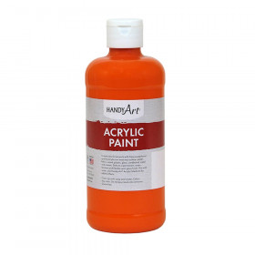 Acrylic Paint 16 oz, Chrome Orange