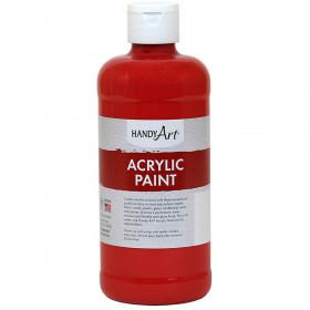 Acrylic Paint 16 Oz Vermilion