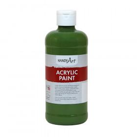 Acrylic Paint 16 oz, Green Oxide