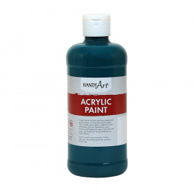 Acrylic Paint 16 oz, Phthalo Green