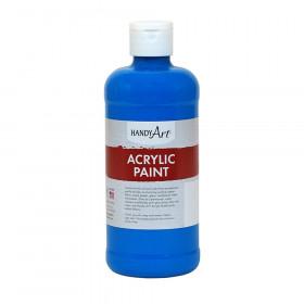 Acrylic Paint 16 oz, Cobalt Blue