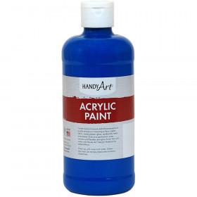 Acrylic Paint 16 Oz Phthalo Blue