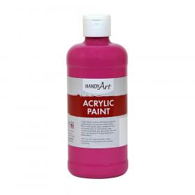 Acrylic Paint 16 Oz Magenta