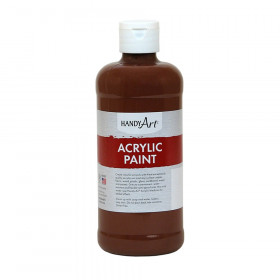 Acrylic Paint 16 oz, Burnt Sienna