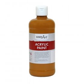 Acrylic Paint 16 oz, Raw Sienna