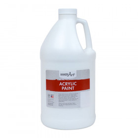 Acrylic Paint Half Gallon, Titan White