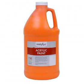 Acrylic Paint Half Gallon, Chrome Orange