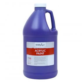 Acrylic Paint Half Gallon, Violet