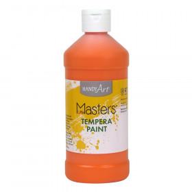 Little Masters Tempera Paint, Orange, 16 oz.
