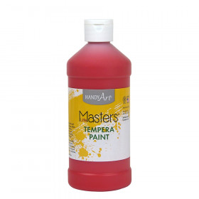 Little Masters Tempera Paint, Red, 16 oz.