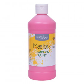 Little Masters Tempera Paint Pint, Pink