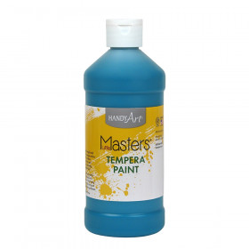 Little Masters Turquoise 16Oz Tempera Paint