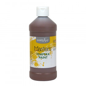 Little Masters Tempera Paint, Brown, 16 oz.