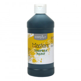 Little Masters Black 16Oz Tempera Paint