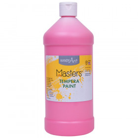 Little Masters Tempera Paint Quart, Pink