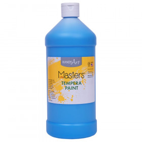 Little Masters Tempera Paint Quart, Light Blue