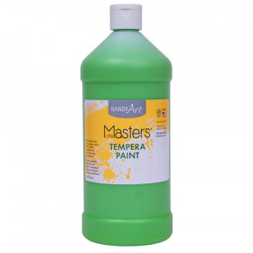 Little Masters Tempera Paint Quart, Light Green
