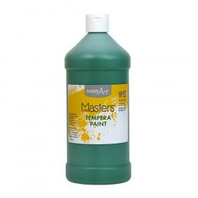 Little Masters Green 32Oz Tempera Paint