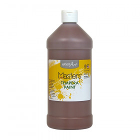 Little Masters Tempera Paint, Brown, 32 oz.