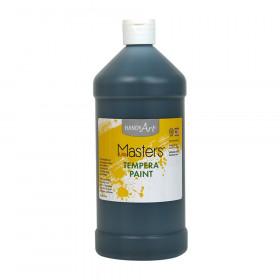 Little Masters Tempera Paint, Black, 32 oz.