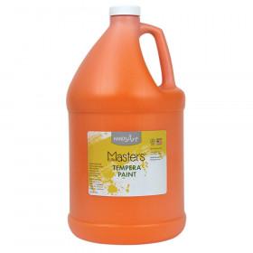 Little Masters Tempera Paint, Orange, Gallon